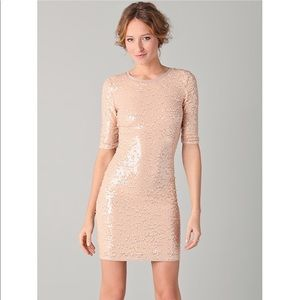 BCBGMAXAZRIA Marta Sqeuin Dress
